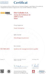 ISO Certificats 2018_9001